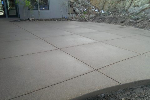 Sand Finish And Exposed Aggregate Norris Concrete