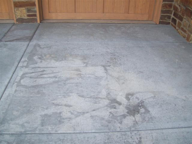 Making your driveway look new!
