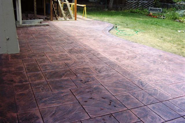 Large ashlar slate pattern