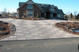 White Hawk Ranch driveway 2