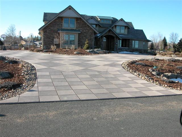 White Hawk Ranch driveway