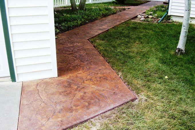 Seamless Stone Pattern walkway