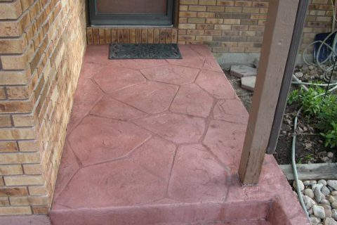 Flagstone pattern – Denver Ave., Longmont