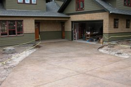2070 Neher Ln., Stamped driveway