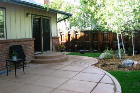 Lund Residence patio