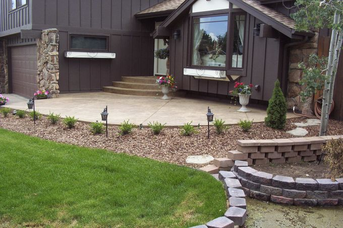 New Entry Porch and New Landscaping - Mackell Home, 4269 Carter Tr.