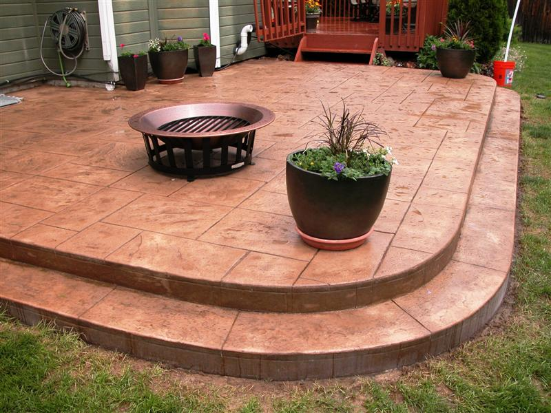 Dessel patio, Large ashlar slate