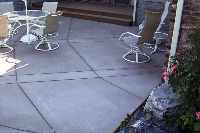 Main level patio
