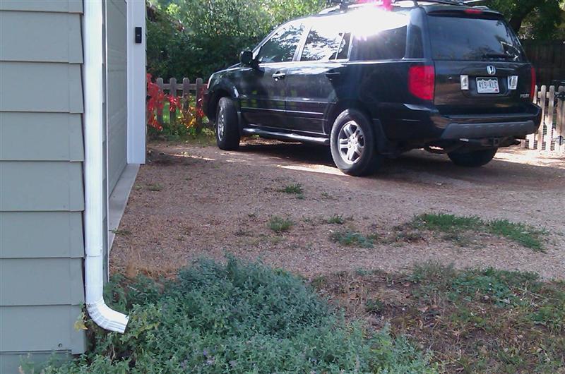 Yee driveway at 1310 Hawthorne