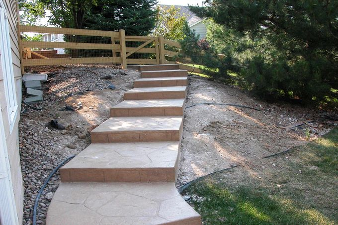 Steps and landings