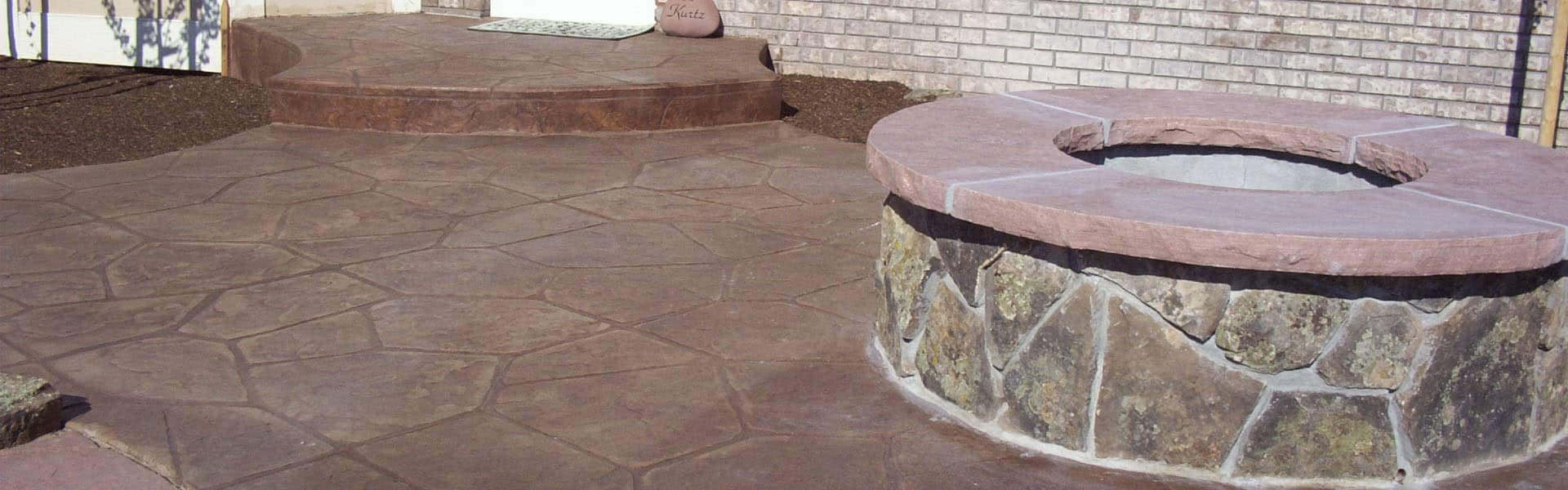 Norris Concrete - custom concrete firepits and patios